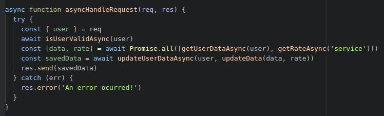 Async-await это шаг назад для JavaScript'a? - 1