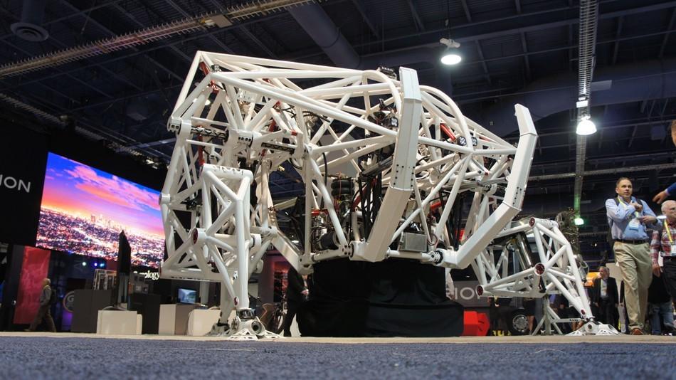 Экзоскелет Prosthesis — гоночный робот для соревнований будущего - 2