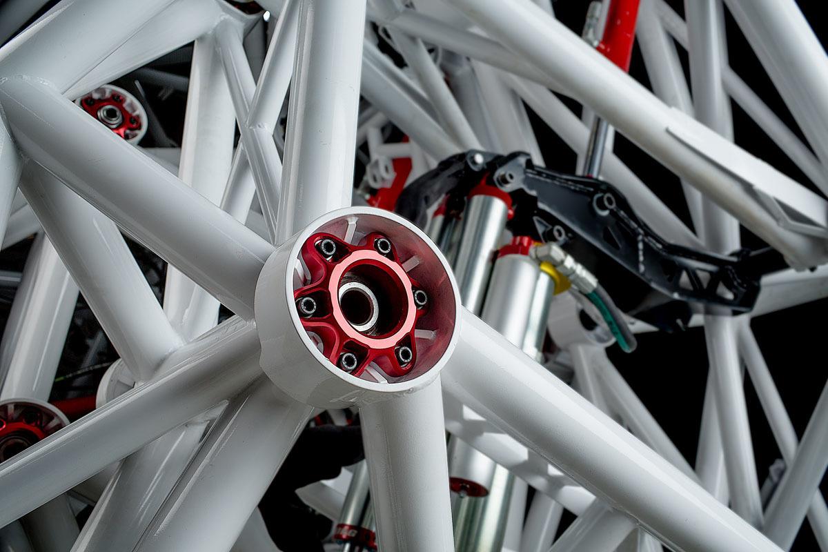 Экзоскелет Prosthesis — гоночный робот для соревнований будущего - 4