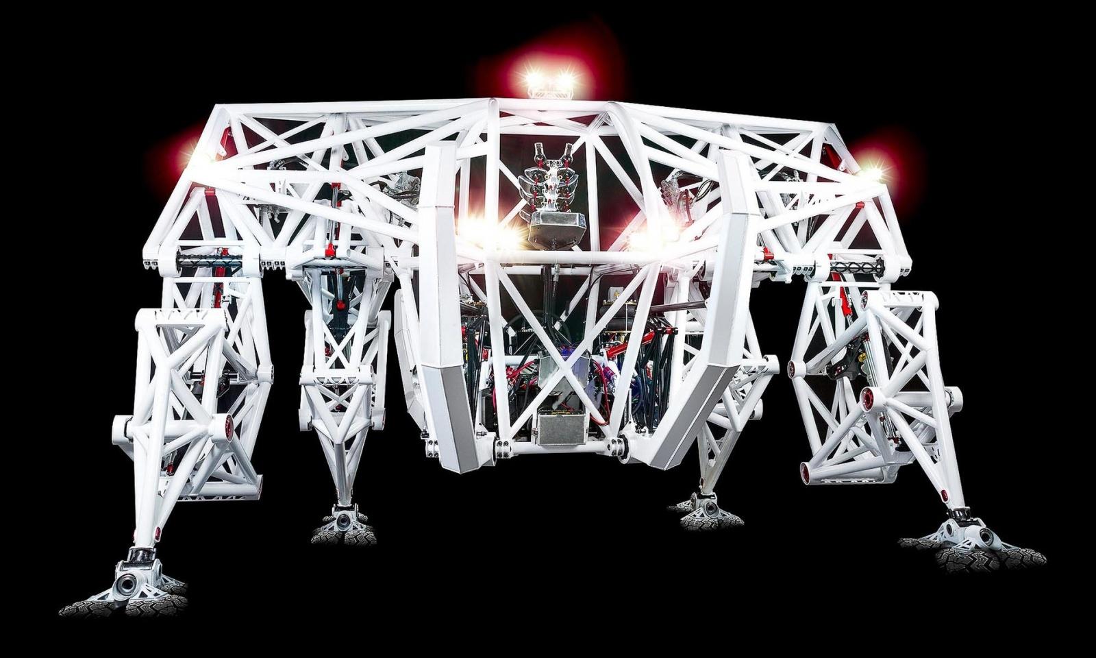 Экзоскелет Prosthesis — гоночный робот для соревнований будущего - 1