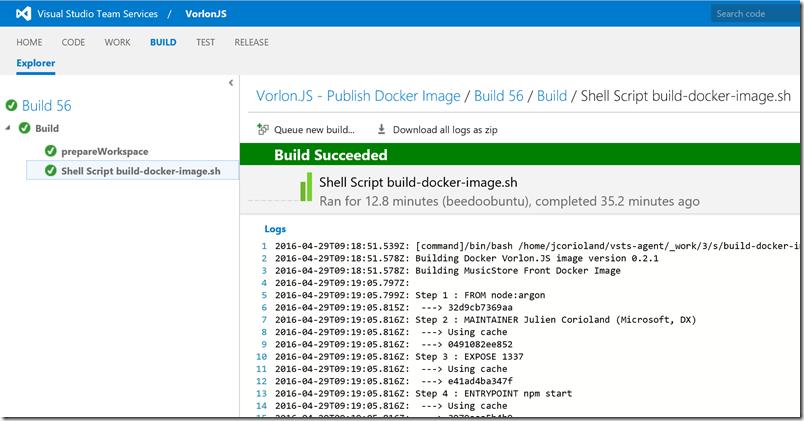 Как мы внедряли DevOps: публикация образа в Docker Hub с помощью Visual Studio Team Services - 7
