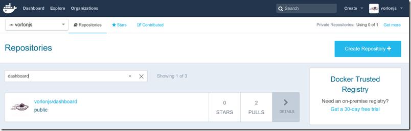 Как мы внедряли DevOps: публикация образа в Docker Hub с помощью Visual Studio Team Services - 8