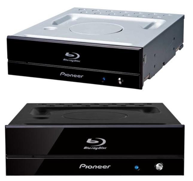 Оптические приводы Pioneer BDR-S11J-BK и BDR-S11J-X поддерживают диски Ultra HD Blu-ray