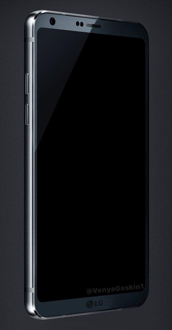 Опубликовано новое изображение смартфона LG G6