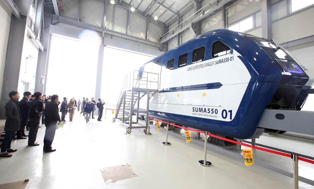 Южная Корея разрабатывает свой Hyperloop - 1