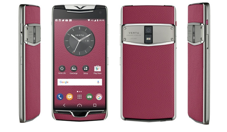Vertu представила смартфон Constellation 2017