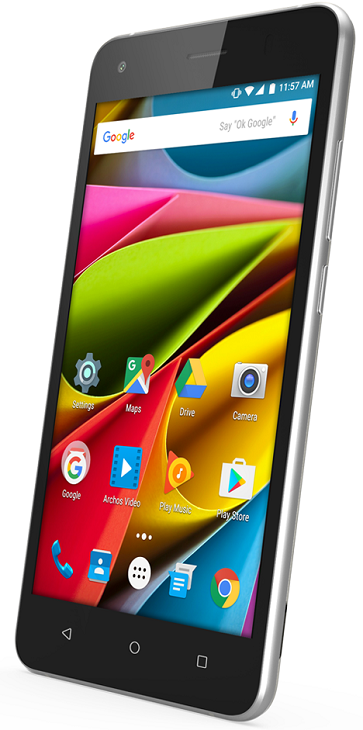 Основой смартфонов Archos 55b Cobalt и 50b Cobalt стала платформа Qualcomm
