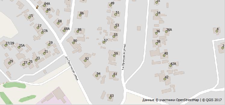 OpenStreetMap, как получить координаты адреса, часть простая - 1
