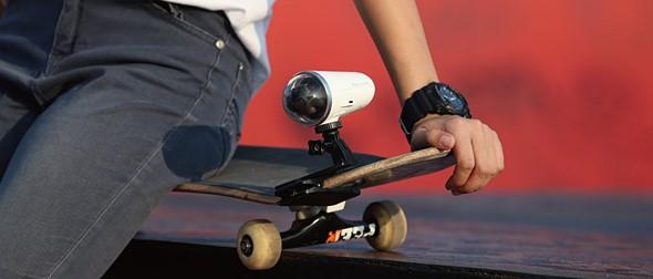 ZeroTech анонсирует экшн-камеру Rollcap со встроенным карданным стабилизатором