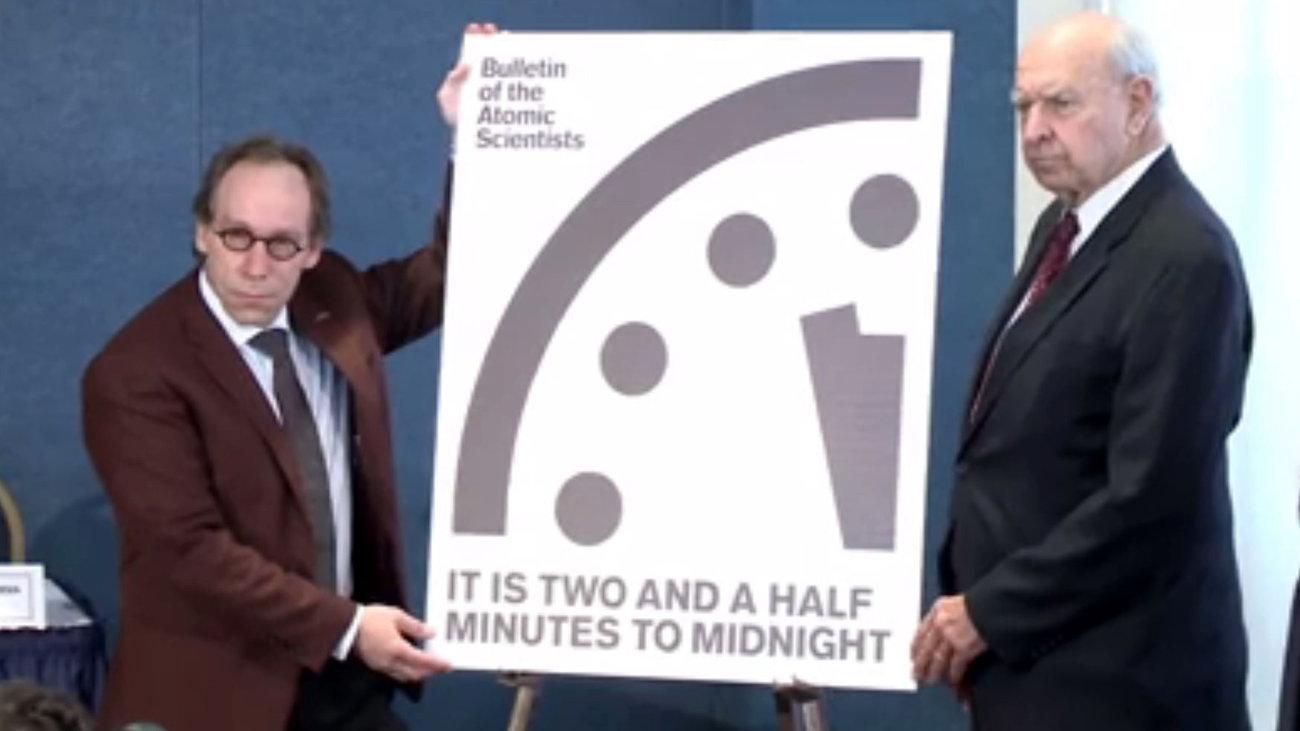 Часы судного дня приблизились ещё на 30 секунд к полуночи - 2