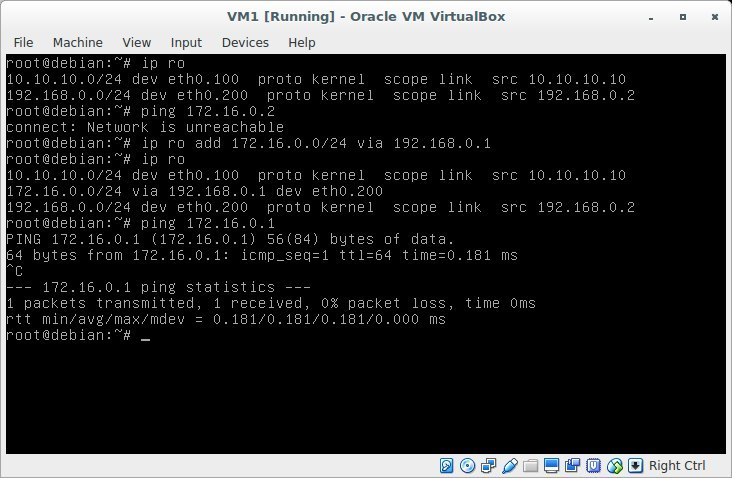 Лабораторная работа «Обучаемся настраивать сети в GNU-Linux» - 21
