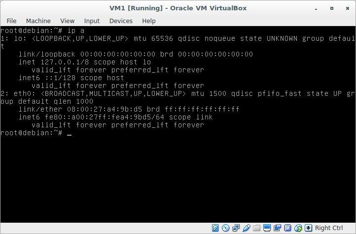 Лабораторная работа «Обучаемся настраивать сети в GNU-Linux» - 4