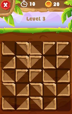 Половинки квадрата - 3