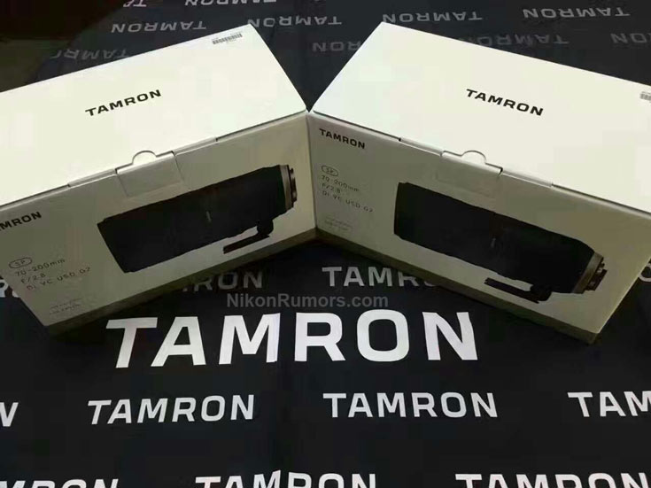 Анонс объектива Tamron SP 70-200mm F/2.8 Di VC USD G2 ожидается на выставке CP+