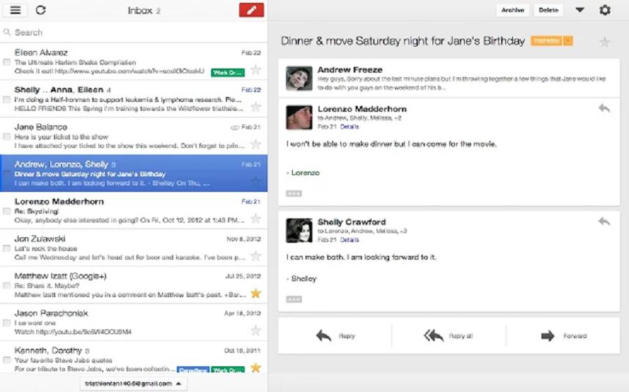 Gmail pour les entreprises  Une messagerie