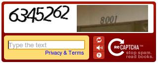 Google Street View ReCAPTCHA
