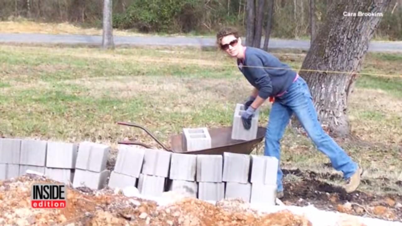 Женщина построила дом по руководствам с YouTube - 10