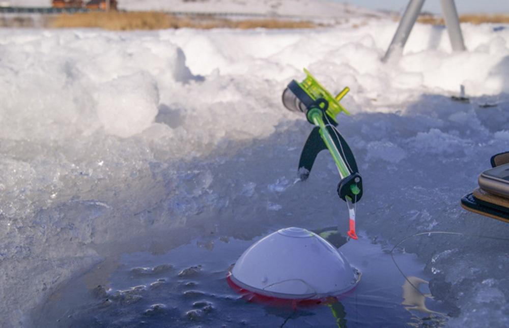 Особенности зимней рыбалки с эхолотом - 13