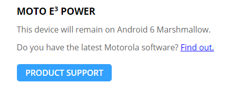 Возможно медвежью услугку смартфону Moto E3 Power оказала его SoC