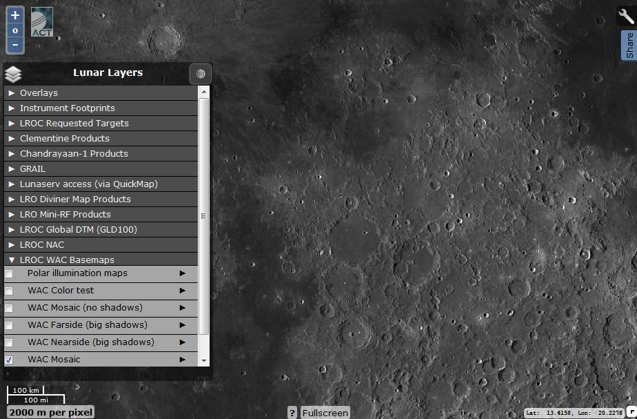 Виртуальная экспедиция на Луну. Практическое пособие - 17