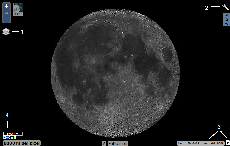 Виртуальная экспедиция на Луну. Практическое пособие - 2