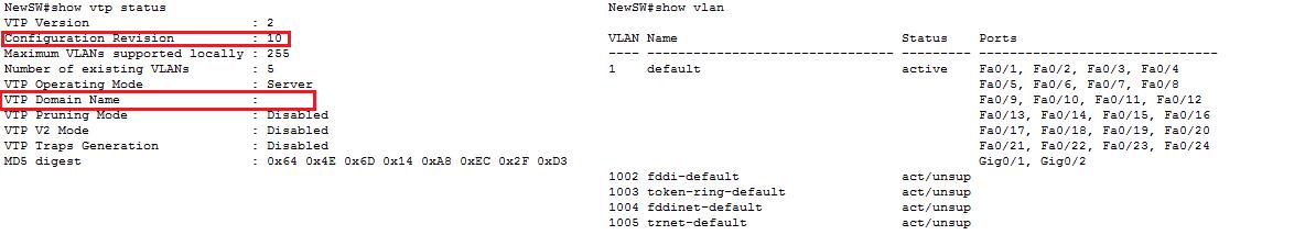 Основы компьютерных сетей. Тема №6. Понятие VLAN, Trunk и протоколы VTP и DTP - 100