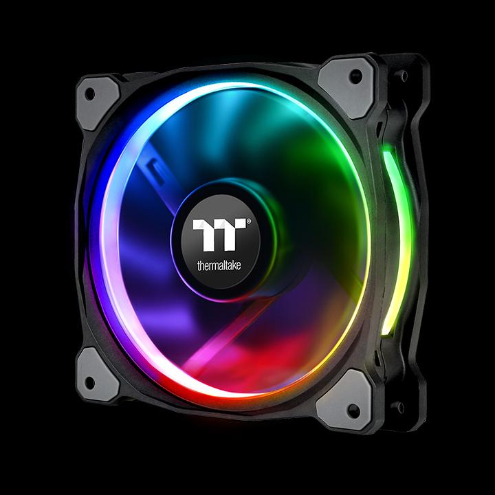 Приз за самое емкое название уходит комплекту Thermaltake Riing Plus 12 LED RGB Radiator Fan TT Premium Edition
