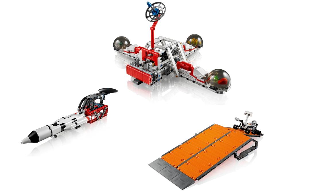 Маленький мир LEGO от робота с большим и умным сердцем - 15