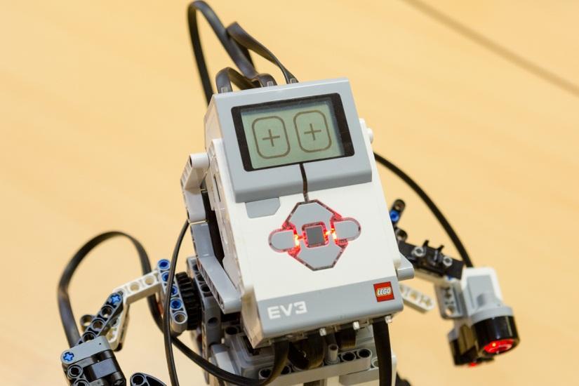 Маленький мир LEGO от робота с большим и умным сердцем - 3