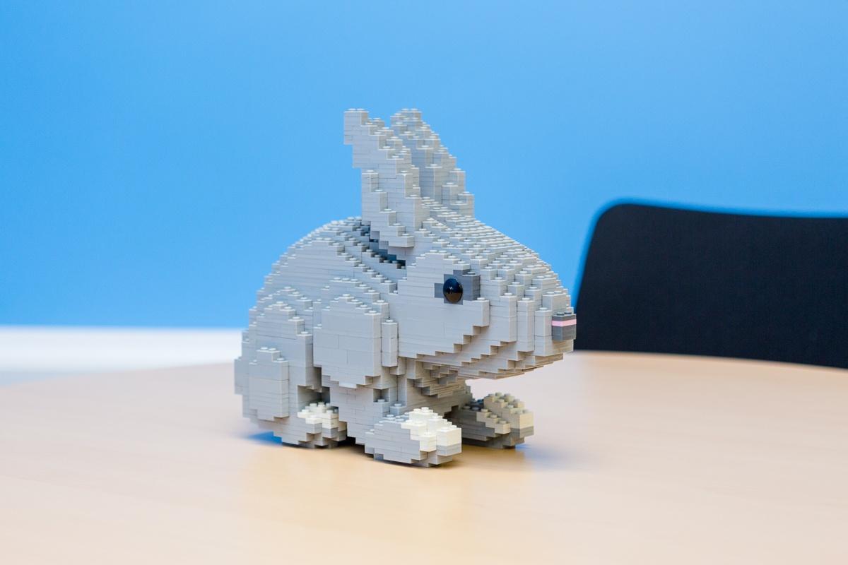 Маленький мир LEGO от робота с большим и умным сердцем - 7