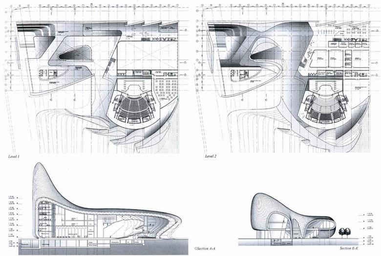 Параметрическая архитектура будущего Захи Хадид - 17