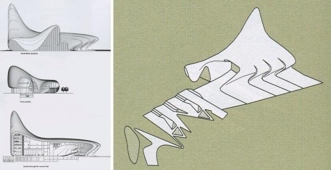 Параметрическая архитектура будущего Захи Хадид - 18