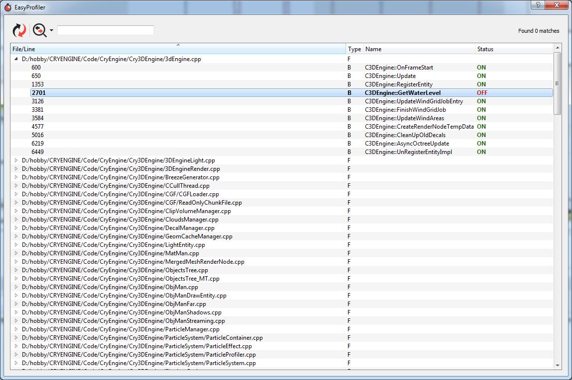 Шустрый, удобный и кроссплатформенный профилировщик C++ кода - 9