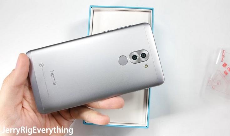 Смартфон Honor 6X защищён не самым твёрдым стеклом
