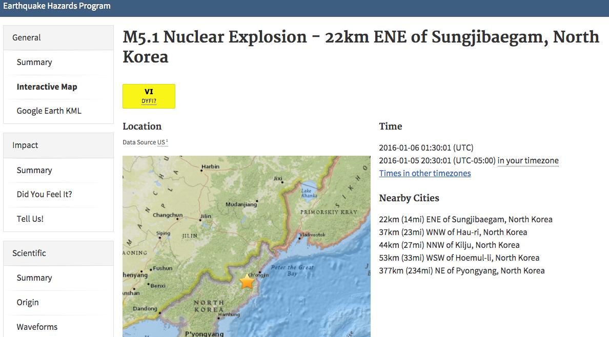 Спросите Итана: откуда мы знаем, что Северная Корея испытывает бомбы? - 5