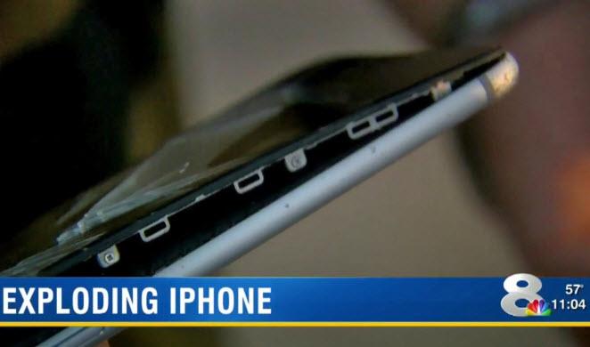 Во Флориде загорелся еще один смартфон iPhone 6 Plus
