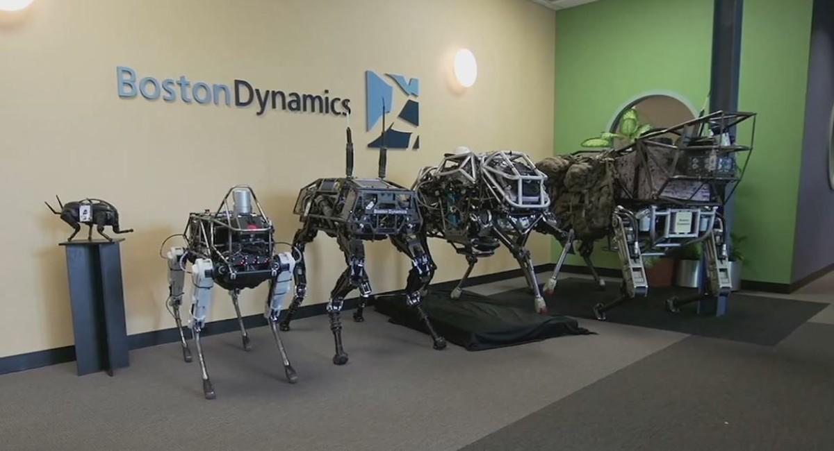 Boston Dynamics разрабатывает пугающе быстрого робота - 1