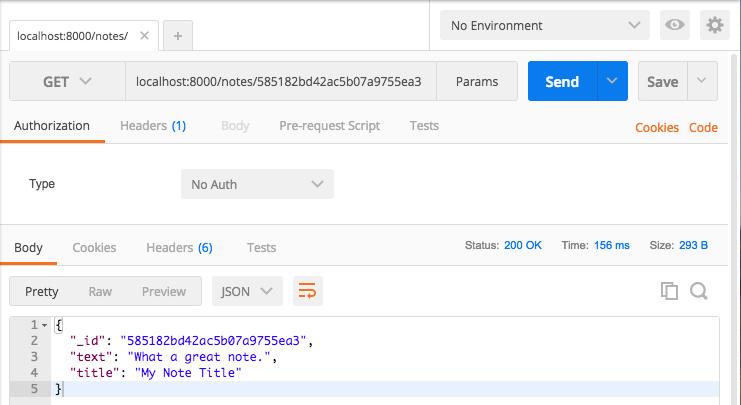 Node.js, Express и MongoDB: API за полчаса - 7