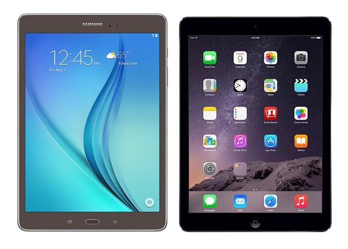 Apple и Samsung показали спад продаж планшетов