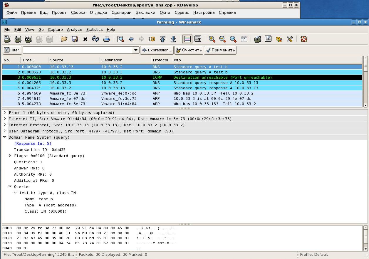 Заражение кэша DNS-серверов провайдеров за счет манипуляции DNS-ответами от легитимных авторитетных DNS-серверов - 3