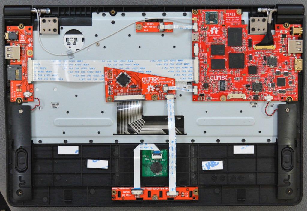 Модульный DIY-ноутбук Olimex TERES I - 2