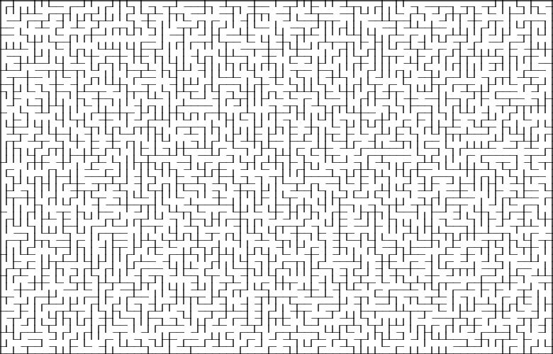 Классические алгоритмы генерации лабиринтов. Часть 2: погружение в случайность - 27