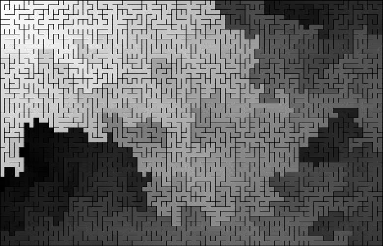 Классические алгоритмы генерации лабиринтов. Часть 2: погружение в случайность - 28