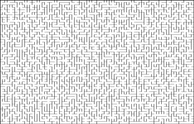 Классические алгоритмы генерации лабиринтов. Часть 2: погружение в случайность - 4