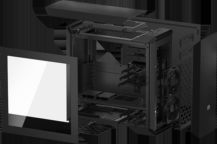 Корпус Cooler Master MasterCase Pro 6 предлагает модульную конструкцию