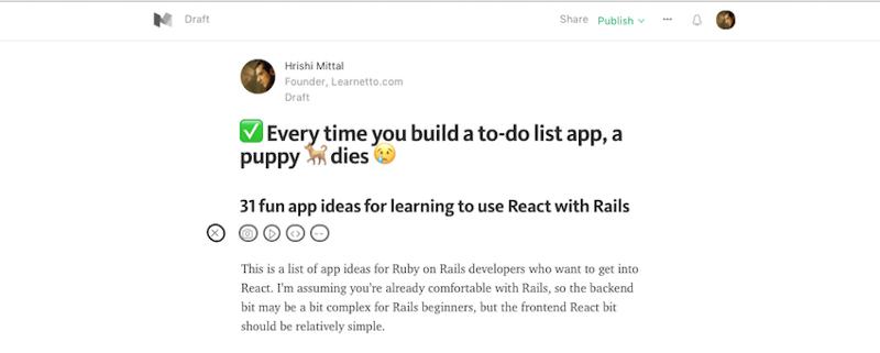 Не убивайте свою мотивацию: осваивайте Ruby on Rails на интересных примерах - 15