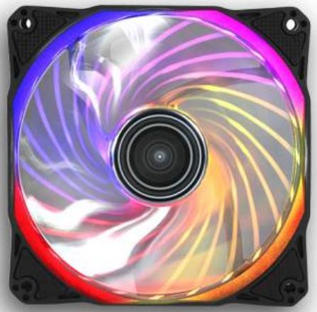 Вентилятор Antec Rainbow 120 RGB оснащен гидравлическими подшипниками