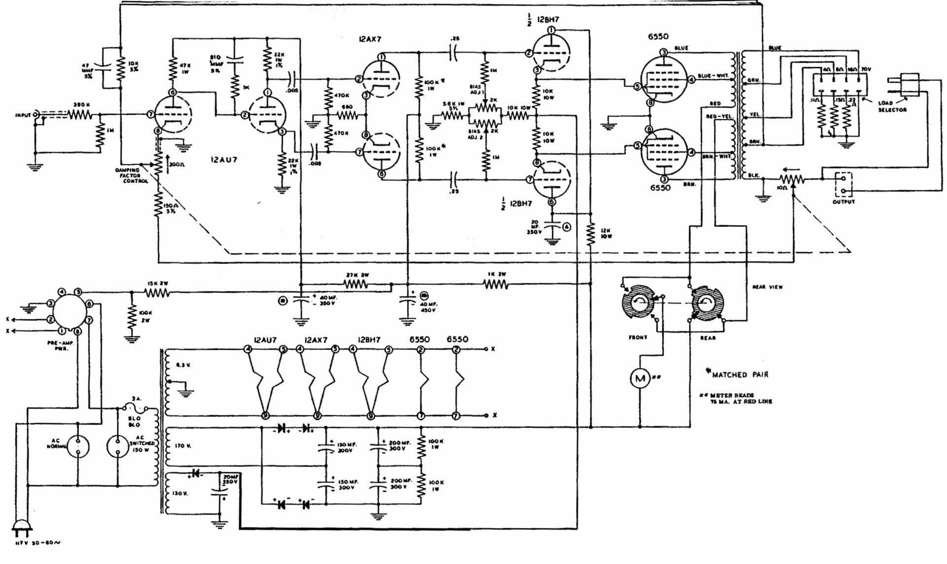 Легендарные усилители: «холод» ламп без трансформатора, DIY-компиляции, десятилетия мучений с классом «Д» - 11