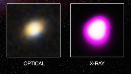 Массивная черная дыра за 10 лет полностью «съела» соседнюю звезду - 2