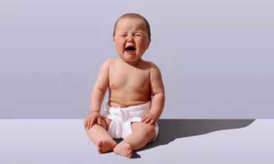 Младенцам вредят громкие звуки